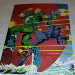 1994 GI Joe 30th Salute #36 cover special missions #1 Trading card